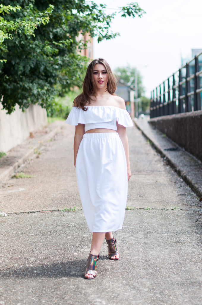 Classic White Co-ord