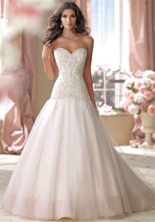 David Tutera for Mon Cheri Bridal Gown 114270