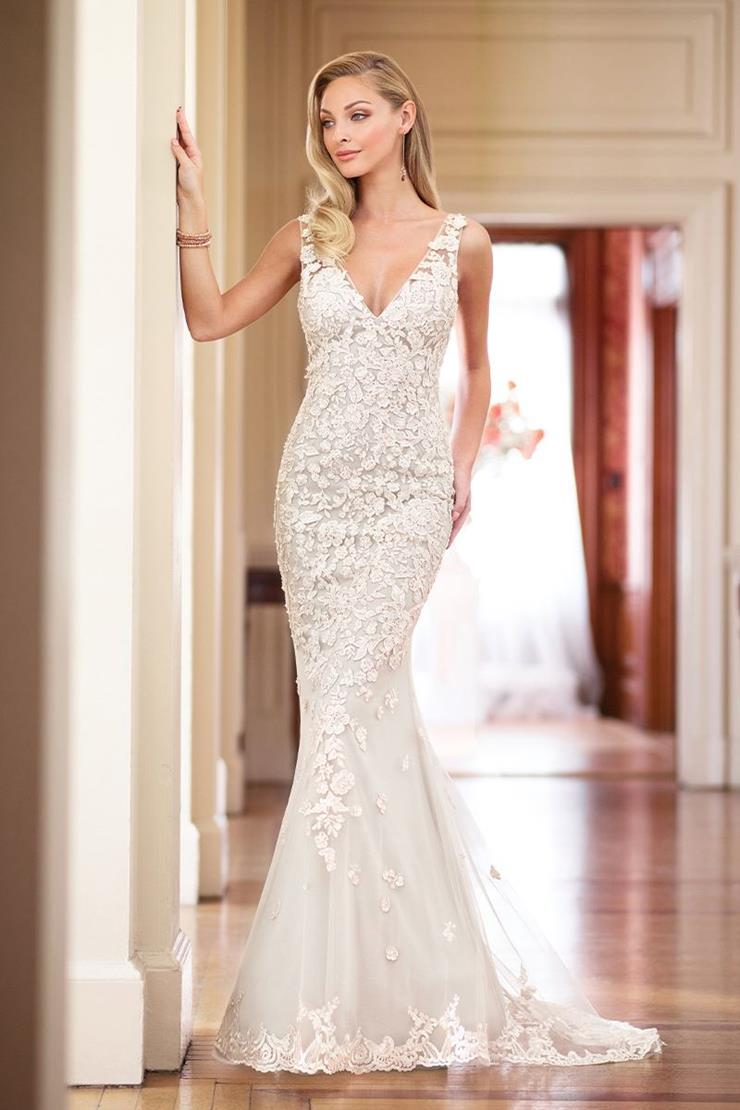 Sexy Fit and Flare Gown with Beaded Lace