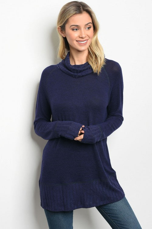 Navy Cozy Sweater