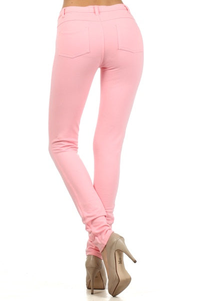 High-Waist Skinny Jeggings - Barbara's Boutique