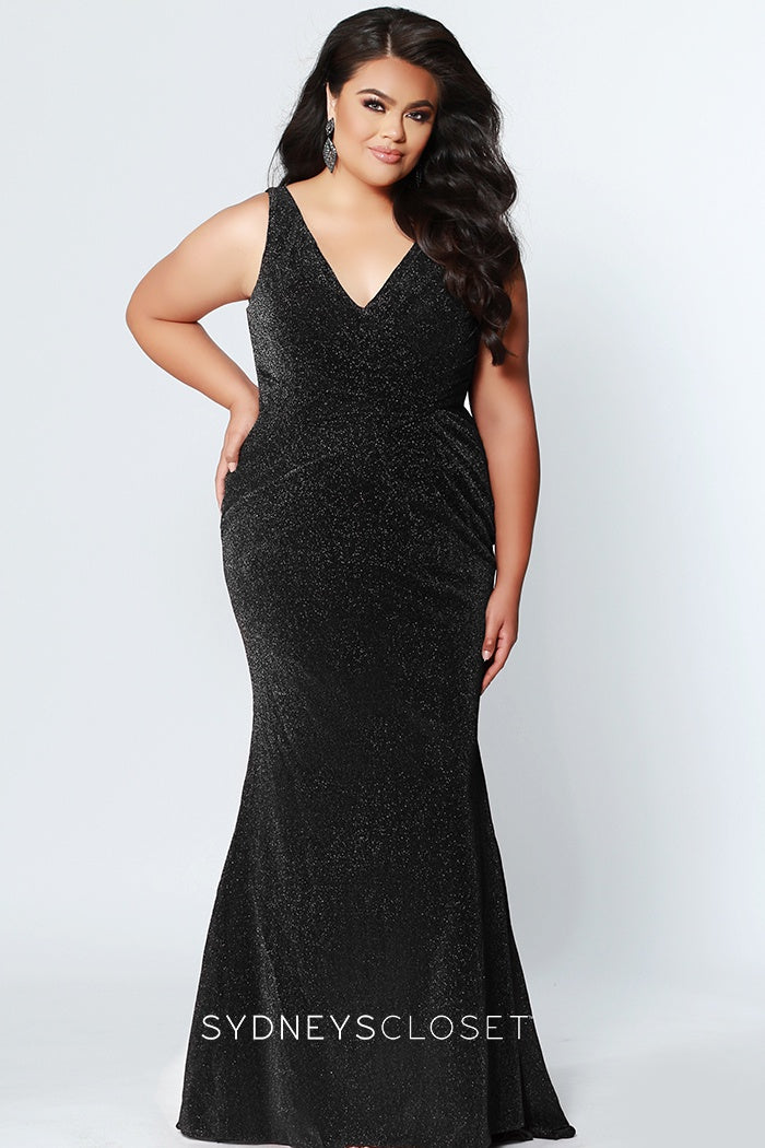 Born To Shimmer Plus Size Gown