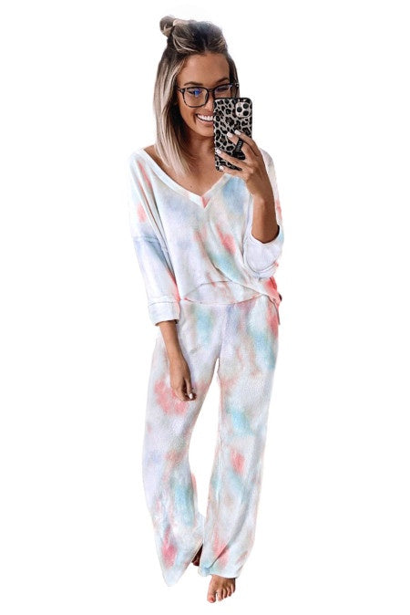Tye-Die Cotton Candy PJ Set