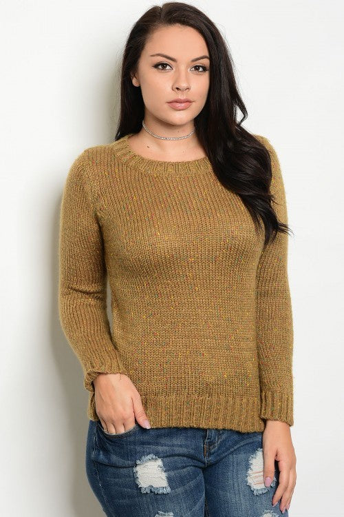 Mocha Plus Size Sweater