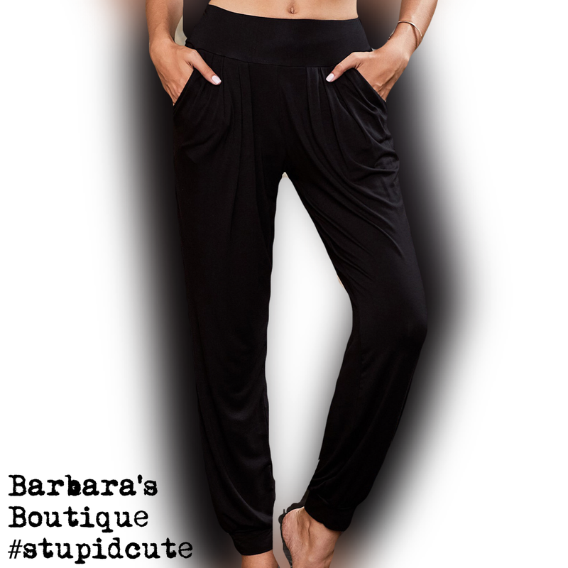 Black Loungie Joggers