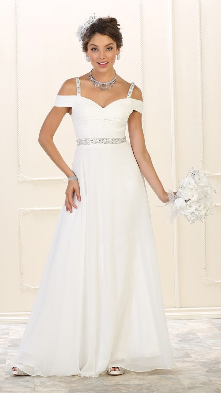 Wedding Gown With Jeweled Detail