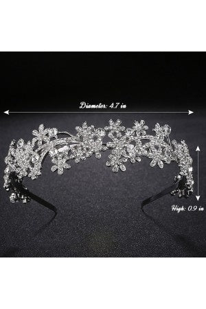 Garden Inspired Wedding Hair Band