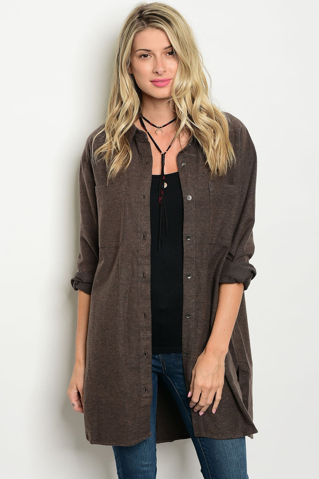 COCOA SHIRT JACKET