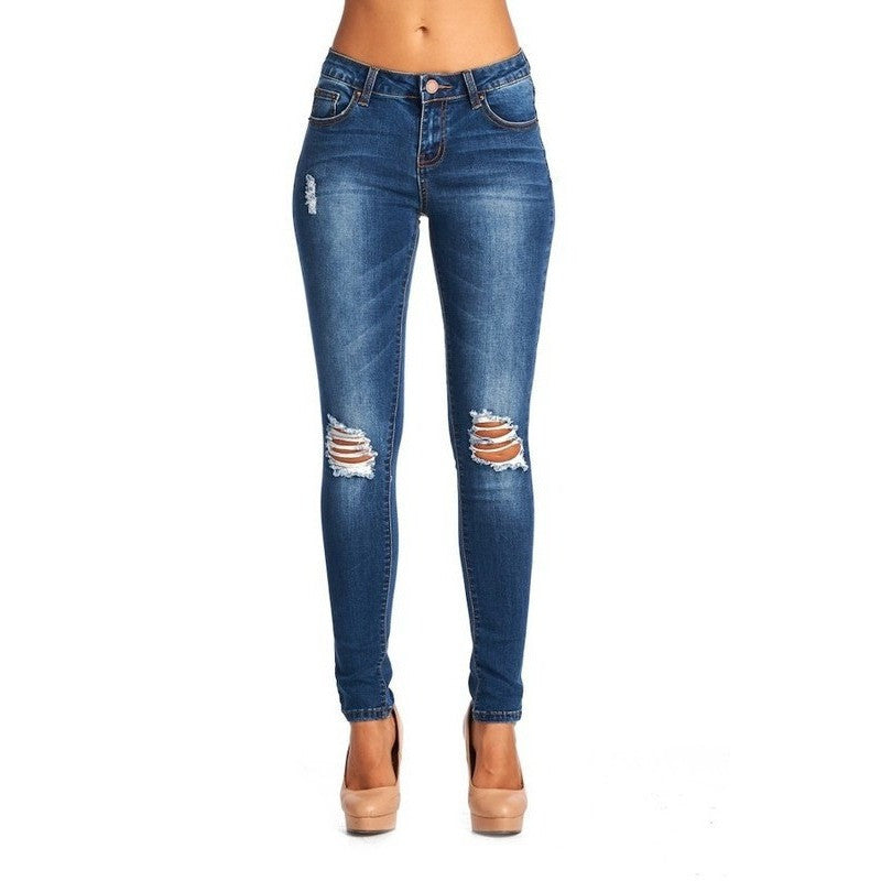 Skinny Distressed Jean -Barbara's Boutique