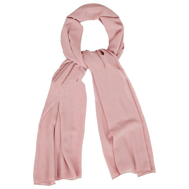 Plain Chiffon Dusty Pink Hijab