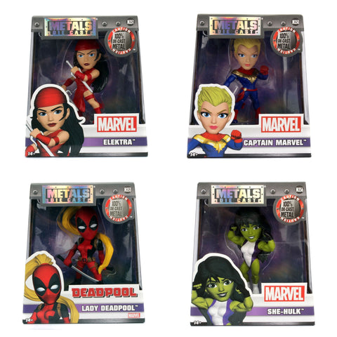 Jada Marvel Girls Figures
