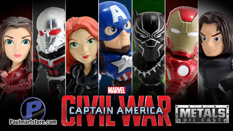 Jada Captain America Civil War