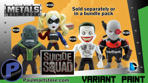 Jada Metal Suicide Squad Action Figures