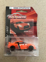 Majorette Die Cast Premium Car- Nissan GT-R Orange