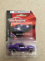 Majorette Die Cast Premium Car- Dodge Challenger SRT Hellcat Purple