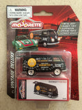 Majorette Die Cast Deluxe Car- VOLKSWAGEN T1 FOOD TRUCK BLACK