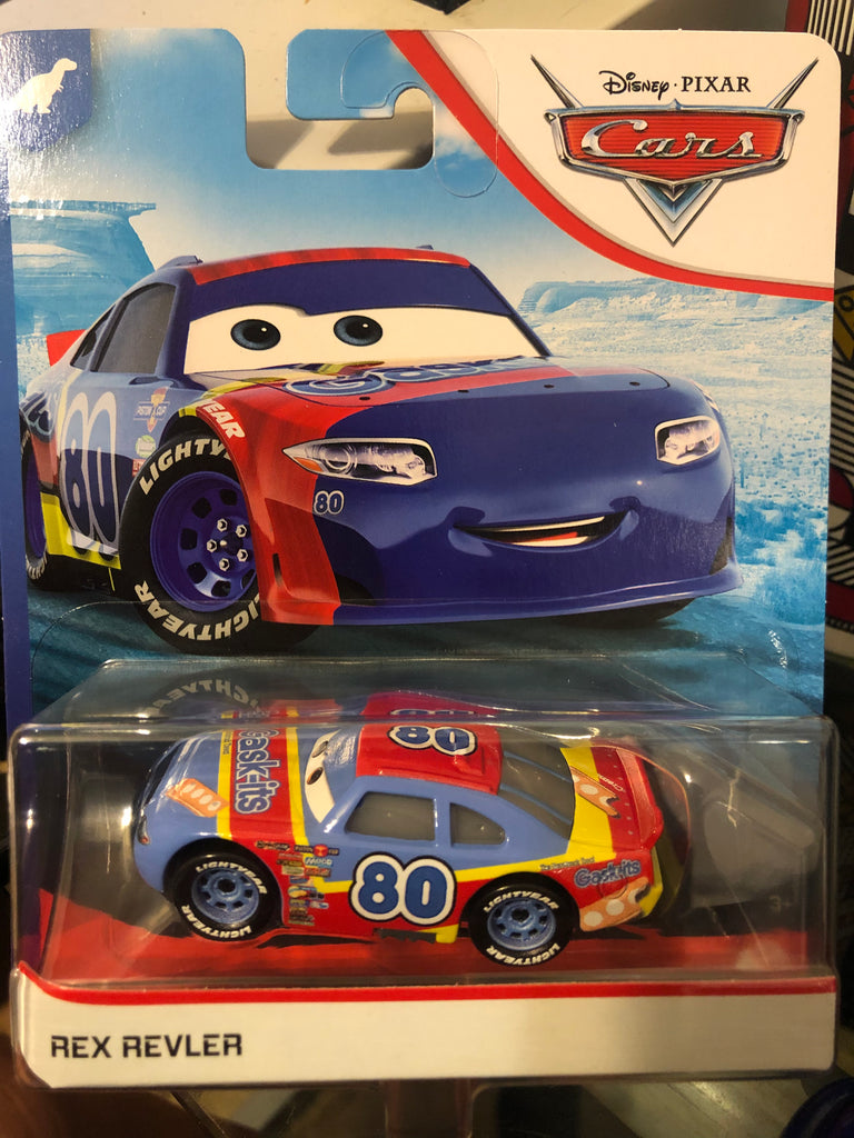 Disney Cars 1:55 Scale Rex Reveler Variant Version