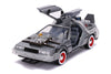 Jada 1/24 Back to the Future 3 III Delorean Time Machine Light Up
