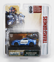 Jada Diecast Metal 1:64 Scale Transformers Movie Last Knight Barricade