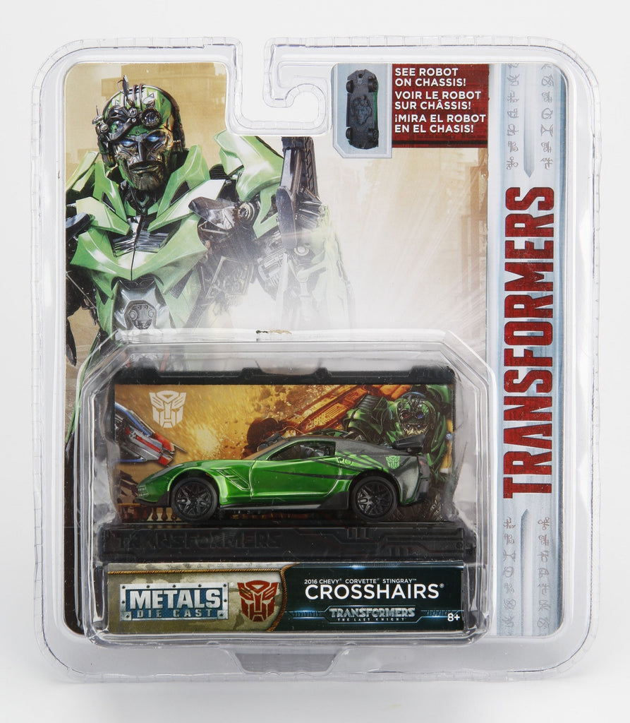 Jada Diecast Metal 1:64 Scale Transformers Movie Last Knight Crosshairs