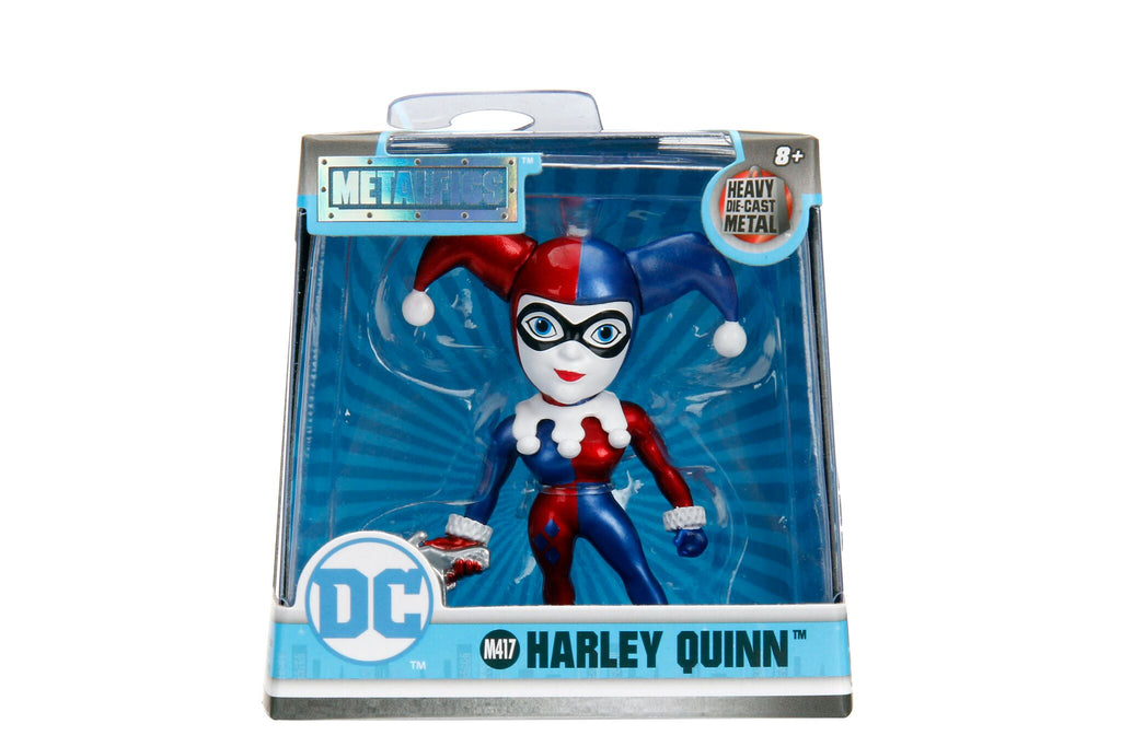 "Jada Metals DC Girls Wave 2 2.5""  Harley Quinn Candy Paint"