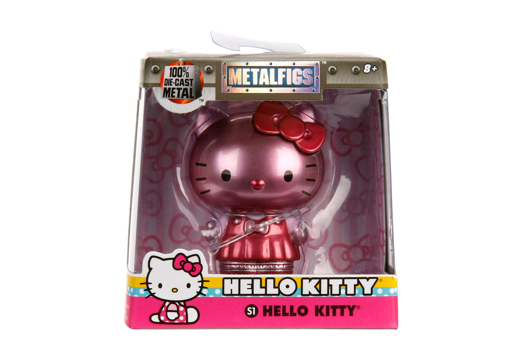 "Jada Diecast Metal  2.5"" Hello Kitty S1 Pink"