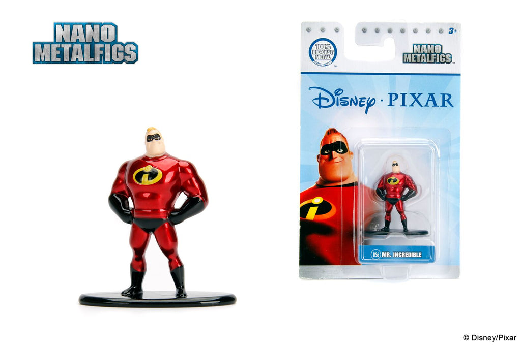 Jada Nano Figures Disney Single Mr Incredible