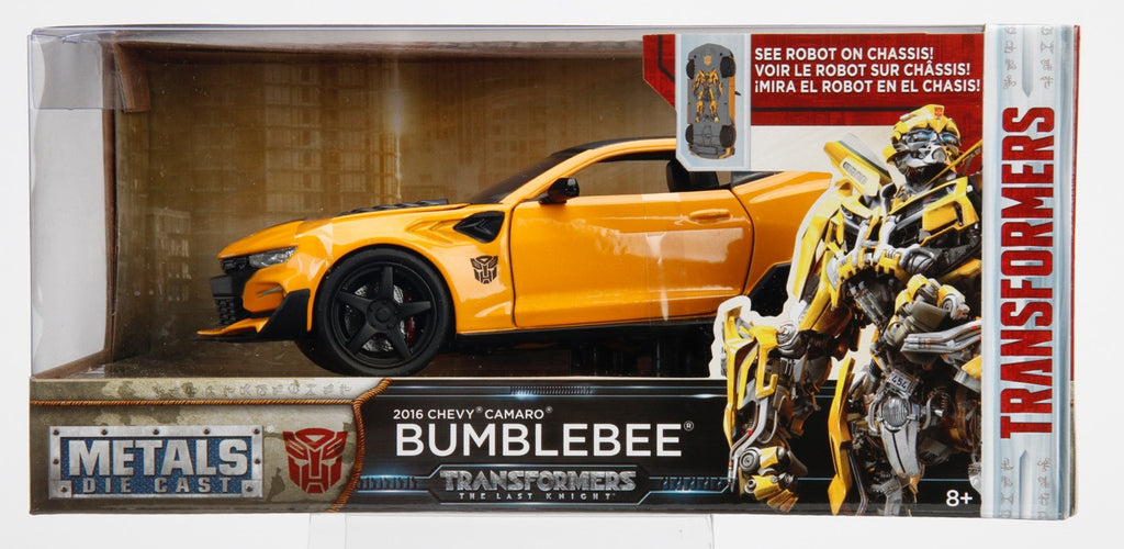 Jada Diecast Metal 1:24 Scale Transformers Movie Last Knight Bumblebee