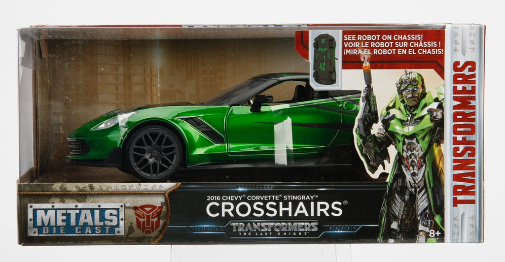 Jada Diecast Metal 1:24 Scale Transformers Movie Last Knight Crosshairs