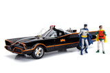 Jada Diecast 1:18 Scale Batman Batmobile 1966 LIGHT UP SIREN HEADLIGHTS TAIL LIGHT