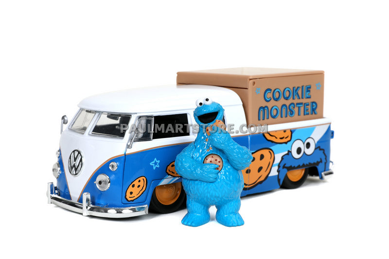 Jada 1/24 Hollywood Rides Sesame Street Cookie Monster