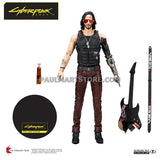 "McFarlane  Cyberpunk Movie 7"" Johnny Silverhand"