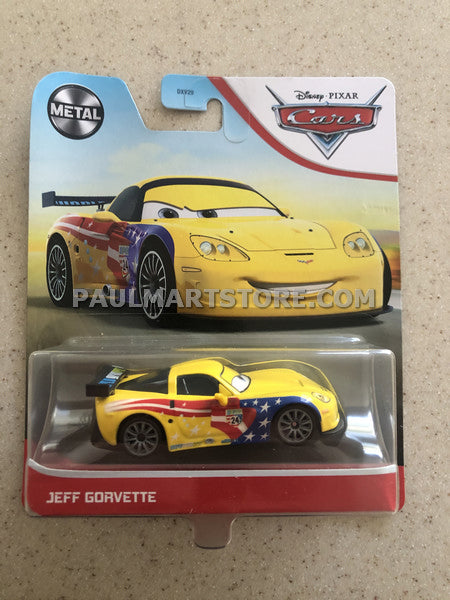 2021 Metal Series Disney Cars Jeff Gorvette
