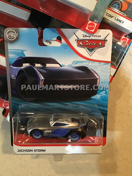 Disney Cars 3 Diecast 1:55 Scale Single SILVER JACKSON STORM