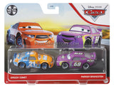 Disney Cars Diecast 2 pack- Speedy Comet Parker Brakeston