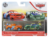 Disney Cars Diecast 2 pack- Ryan Laney Eric Braker