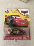 2021 Metal Series Disney Cars GOLD Lightning Mcqueen