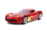 Jada Diecast Metal 1:32 Scale Flash 2009 Chevy Corvette Stingray