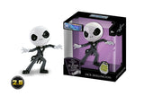 "Jada Metals Disney 2.5"" Nightmare Before Christmas Jack Skellington 25th Anniversary Glow in Dark"