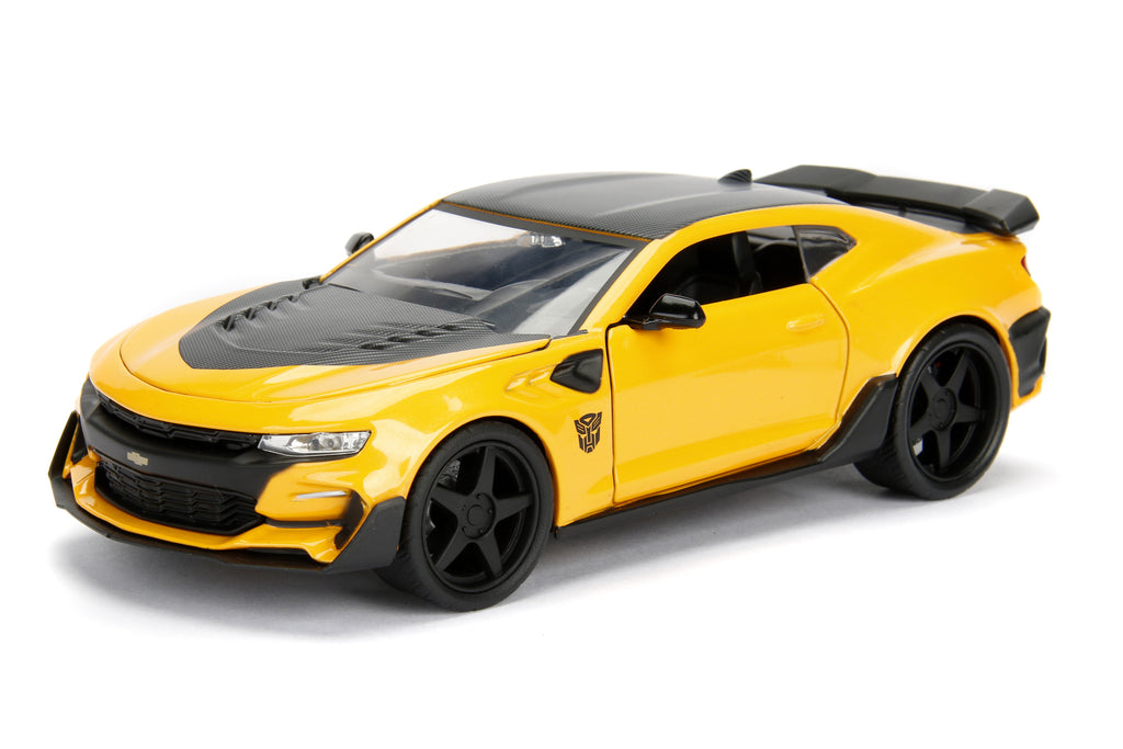 Jada Diecast Metal 1 24 Scale Transformers Movie Dark Knight Bumblebee With Coin on bumblebee camaro wallpaper