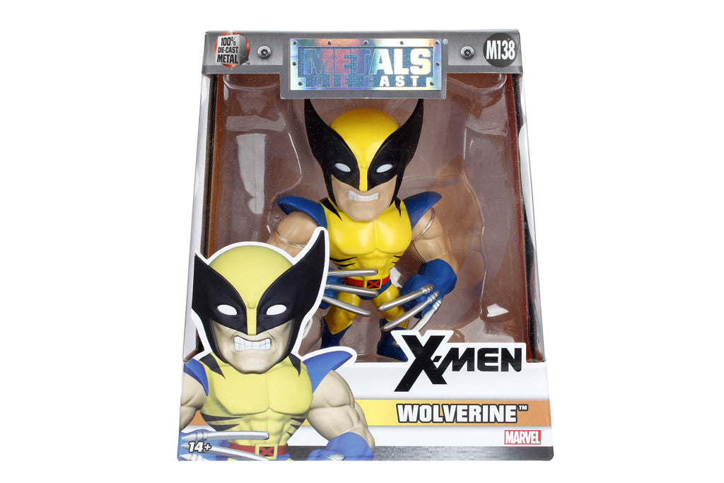 Jada Metals Figure Xmen Wolverine Yellow Blue M138