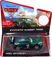 Cars 2 Exclusive Rubber Tires Nigel Gearsley
