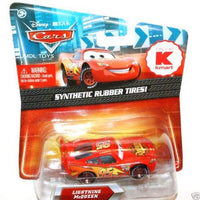 Disney Cars 3 Diecast 1:55 Scale Synthetic Rubber Tires Lightning McQueen Rusteze