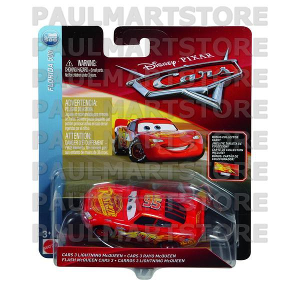 Cars 3 Diecast 1 55 Scale Cars 3 Lightning Mcqueen With Billboard