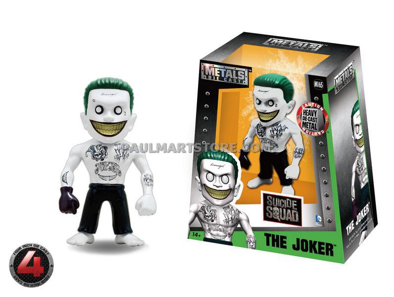 "Jada Diecast Metal Suicide Squad 4"" Joker Alternate  M165"