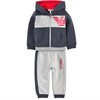 Armani Baby Boys Navy/Grey Tracksuit Baby Sets & Suits Armani Junior [Petit_New_York]