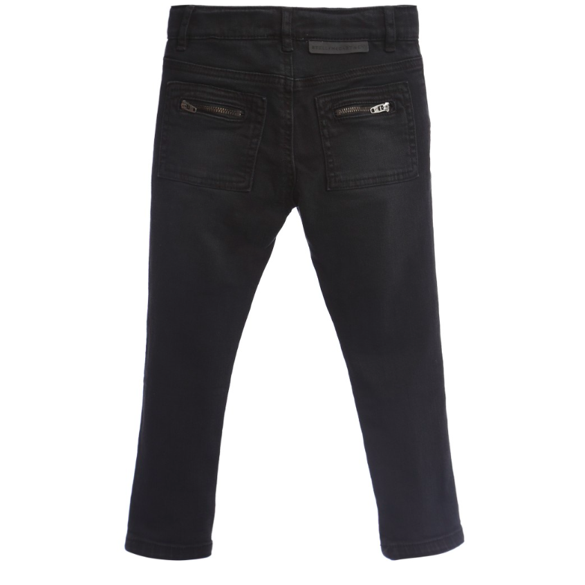 Stella McCartney Boys Dark Jeans Boys Pants Stella McCartney Kids [Petit_New_York]