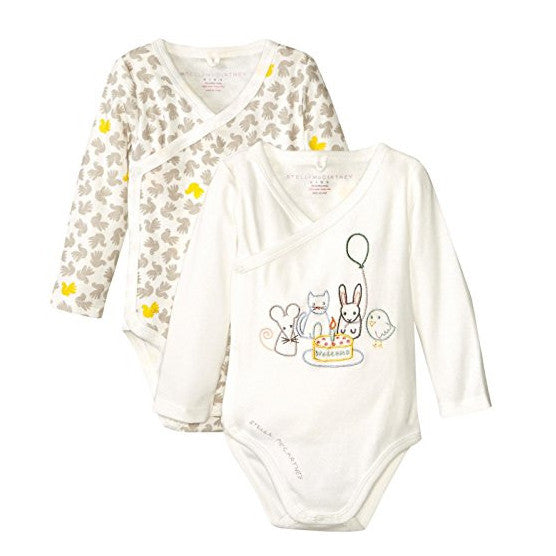 Stella McCartney Baby Girls Two-Pack Rompers Baby Rompers & Onesies Stella McCartney Kids [Petit_New_York]