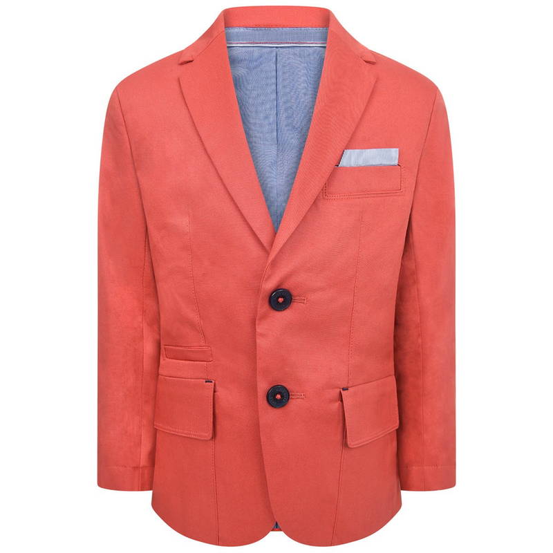 Hugo Boss Boys Red Blazer Boys Suits & Blazers Boss Hugo Boss [Petit_New_York]