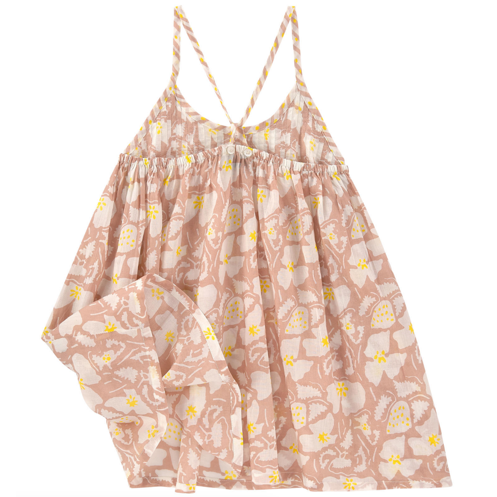 Stella McCartney Baby Girls Floral Pink Top Baby Tops Stella McCartney Kids [Petit_New_York]